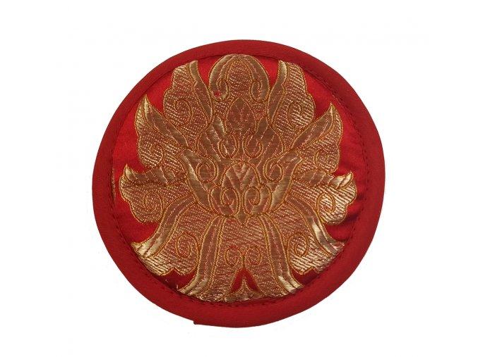 Podložka pod tibetskou mísu brokátová