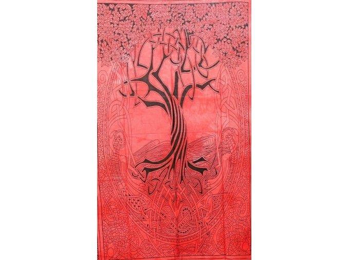 strom cerveny