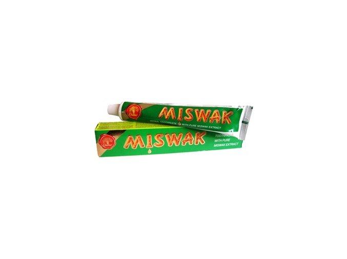 Zubní pasta s miswakem