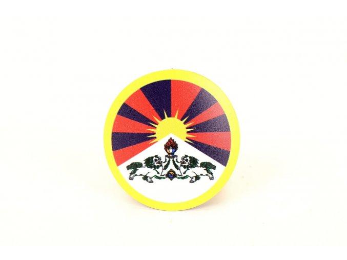 Magnet tibetská vlajka