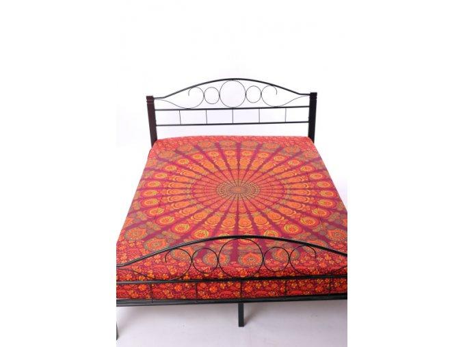 Přehoz na postel mandala živelná