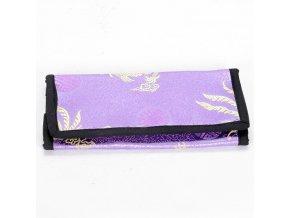 Brokátová peněženka DOLMA - lila