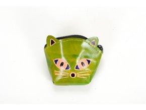 Kožená peněženka – Čimi zelená