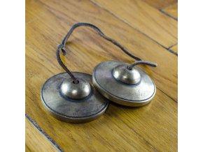 Tibetské činelky Tingsha - velké - jednoduché