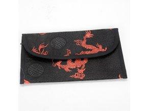 Peněženka LHAMO - černočervená