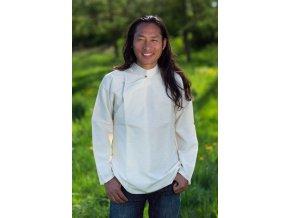 Tibetská košile bílá
