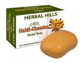 Mýdlo Santal-mléko-kurkuma