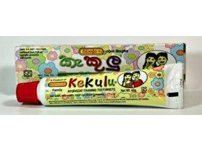 Dětská zubní pasta Kekulu