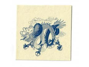 Přání tibetský drak
