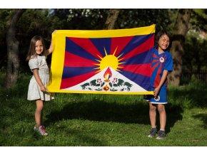 Tibetská vlajka - velká