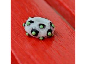 Skleněná perla bodlák