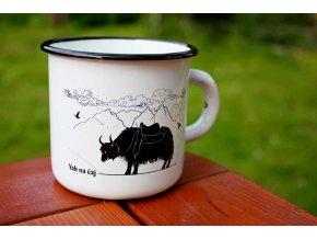 bílý yak na čaj