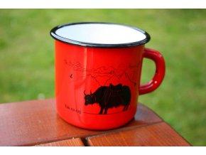 červený yak na čaj