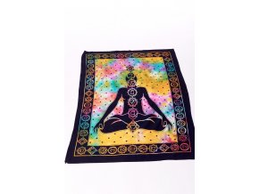 Dekorace meditace, čakry - barevná