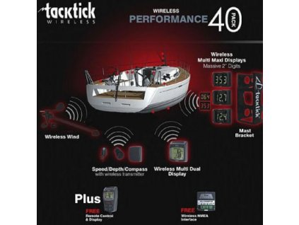 Tacktick Performance Pack 40 (T103/T106/T120/ T210(3x)/T909/T234)