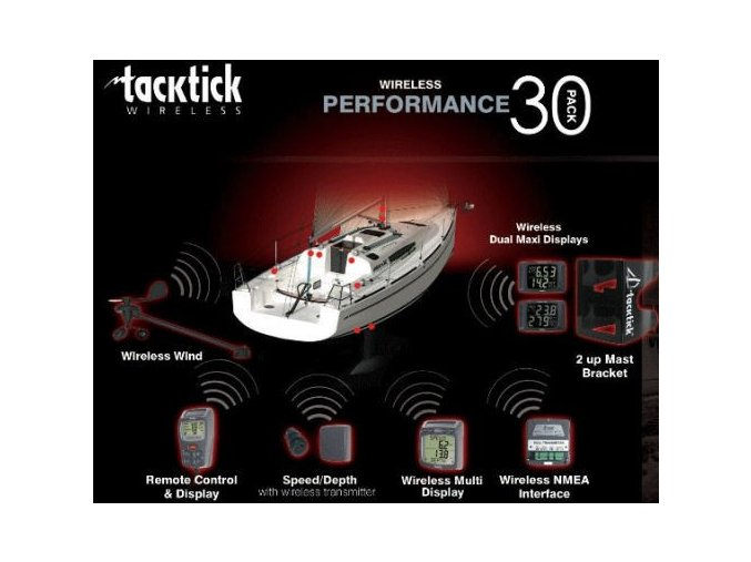 Tacktick Performance Pack 30 (T103/T106/T120/ T215/T210/T909/T232)