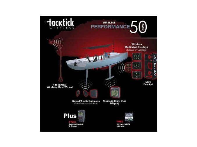 Tacktick Performance Pack 50 (T103/T106/T222/ T210(3x)/T909/T234)