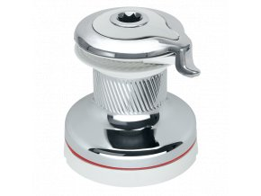 20STCW Radial Chrome Self-Tailing Winch White RAL9003