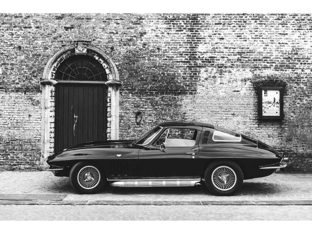 Brugges Corvette Stingray print new