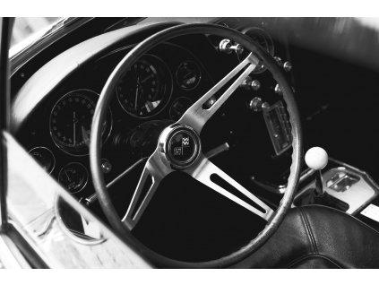 Brugges Corvette Stingray interior