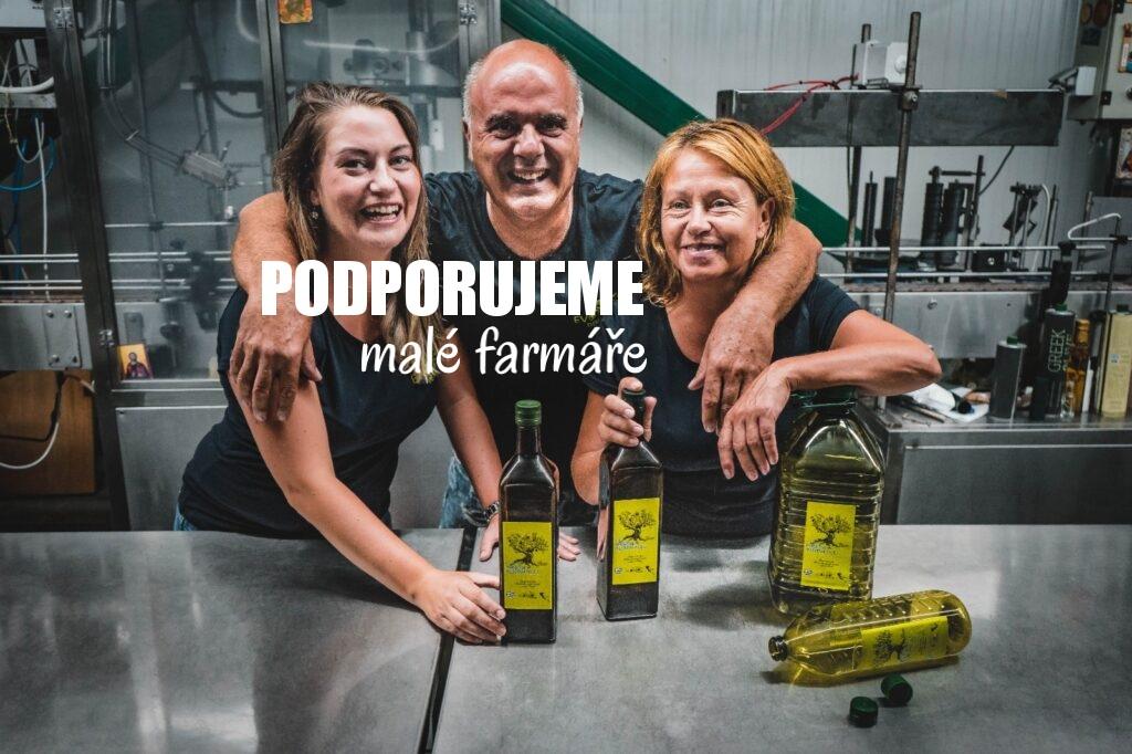 Podporujeme malé řecké farmáře