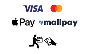 Umíme přijímat tyto platby