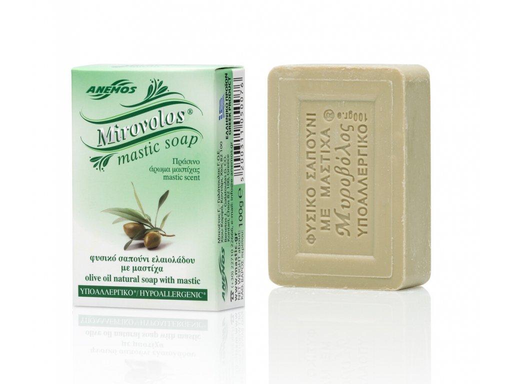 Anemos Chios Mirovolos prirodni mydlo s mastichou a olivovym olejem