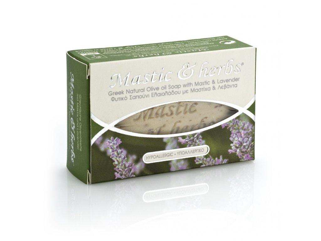 Anemos Chios Mastic herbs prirodni mydlo s mastichou a levanduli