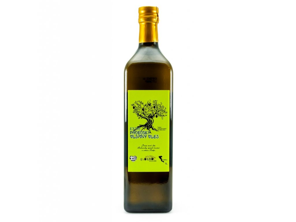 Evoilino Korfu Extra panensky olivovy olej 1l sklo