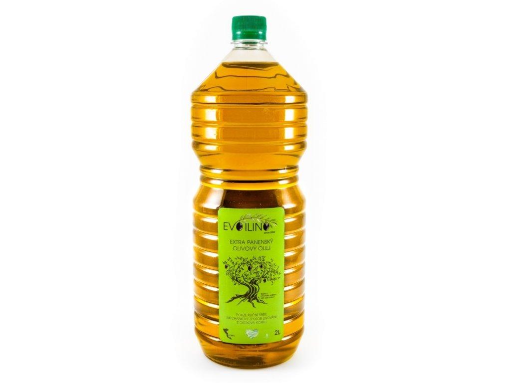 evoilino korfu extra panensky olivovy olej 2l plast