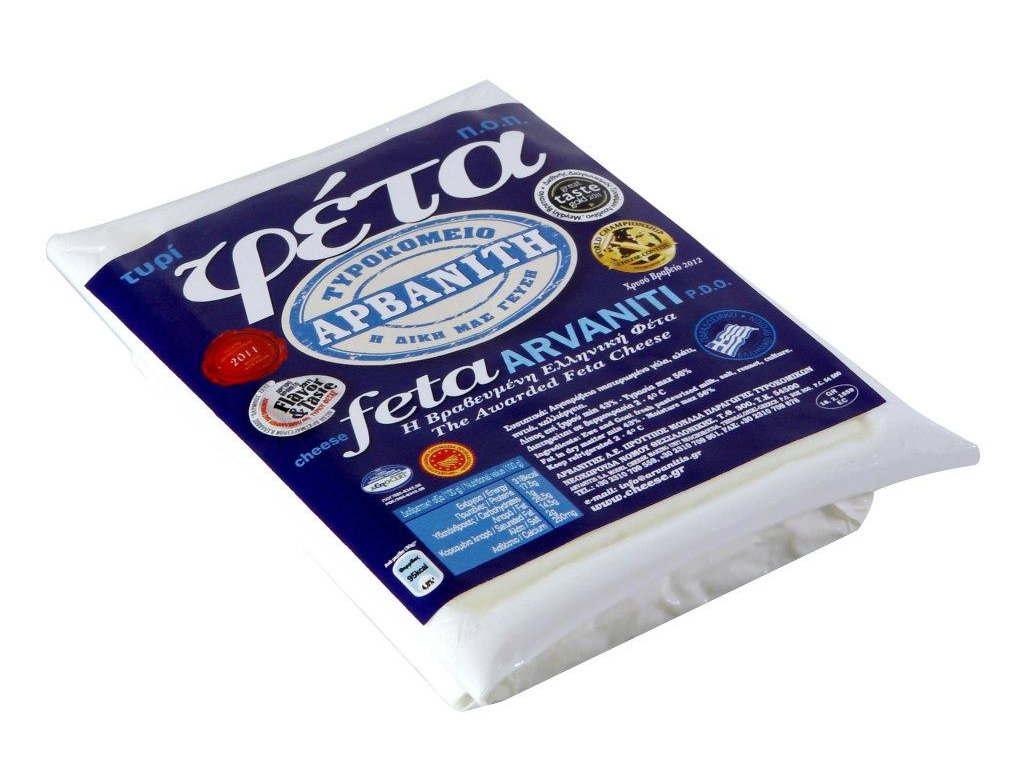 Arvaniti syr Feta PDO 150g