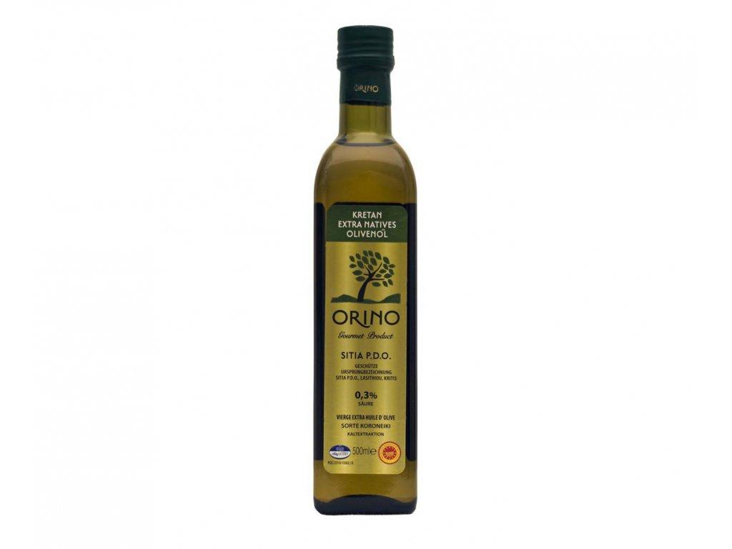 Orino Sitia P.D.O. Kreta Extra panensky olivovy olej 500ml