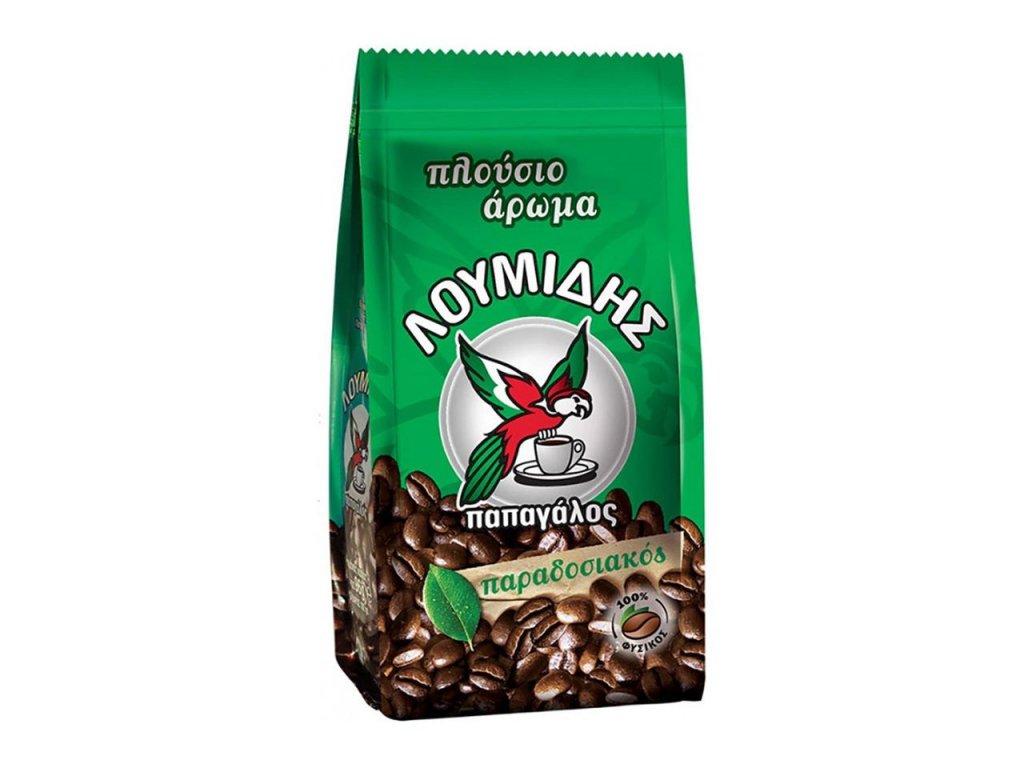 loumidis recka kava do dzezvy papagalos96g