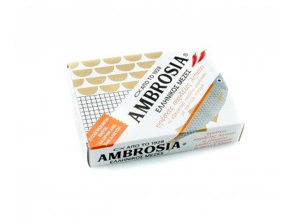 Vialco Ambrosia sardinky v extra panenskem olivovem oleji 95g pikantni 1