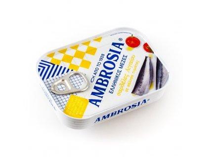vialco ambrosia sardinky sardina pilchardus v tomatove omacce 100g