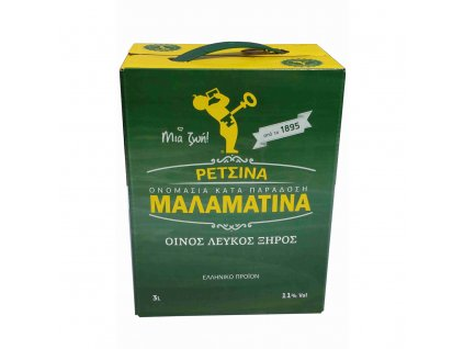 retsina malamatina 3l
