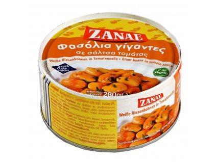 Zanae Gigantes obří fazole v tomatové omáčce 280g
