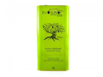 Evoilino Korfu Extra panensky olivovy olej 5l plech