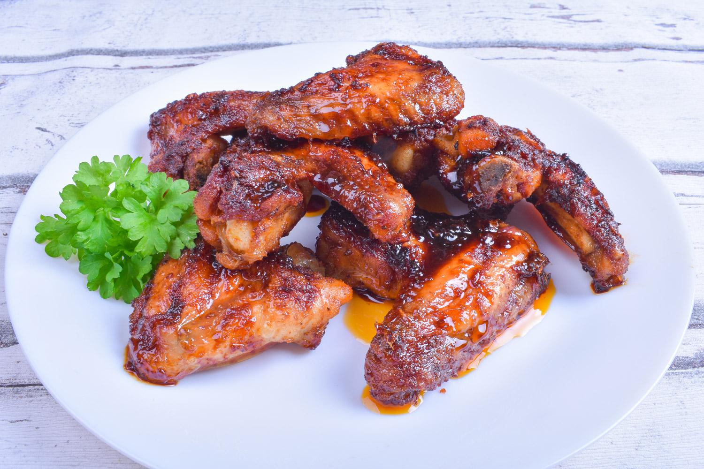 Kuřecí křídla s marinádou