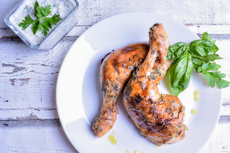 Pečené kuře v marinádě