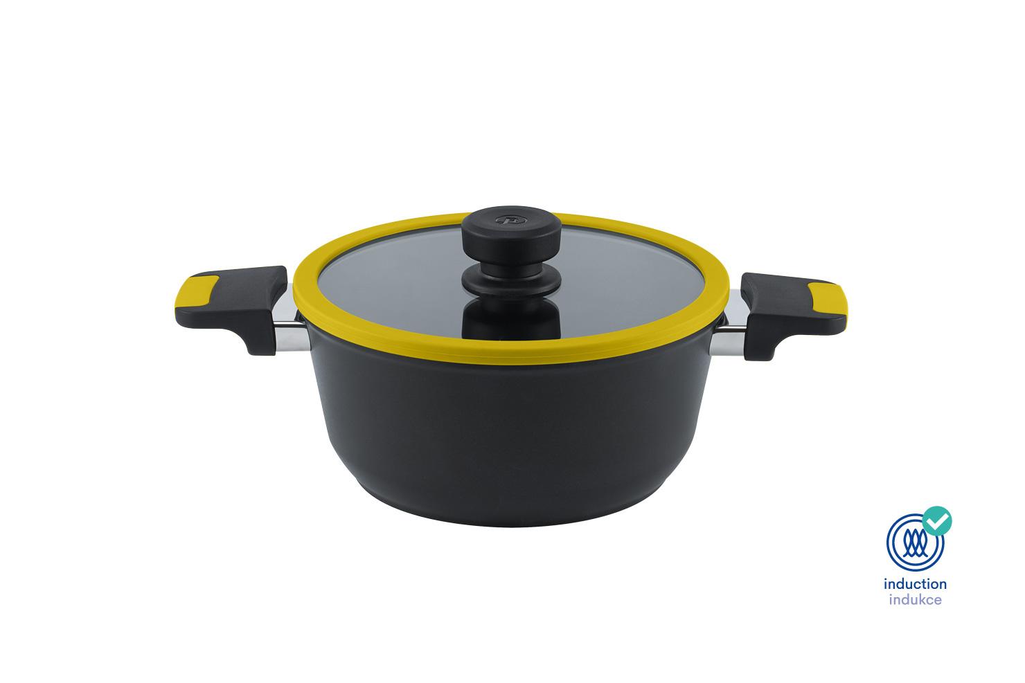 Levně Remoska H2411/CI Hrnec 24cm Vega Barva: Žlutá