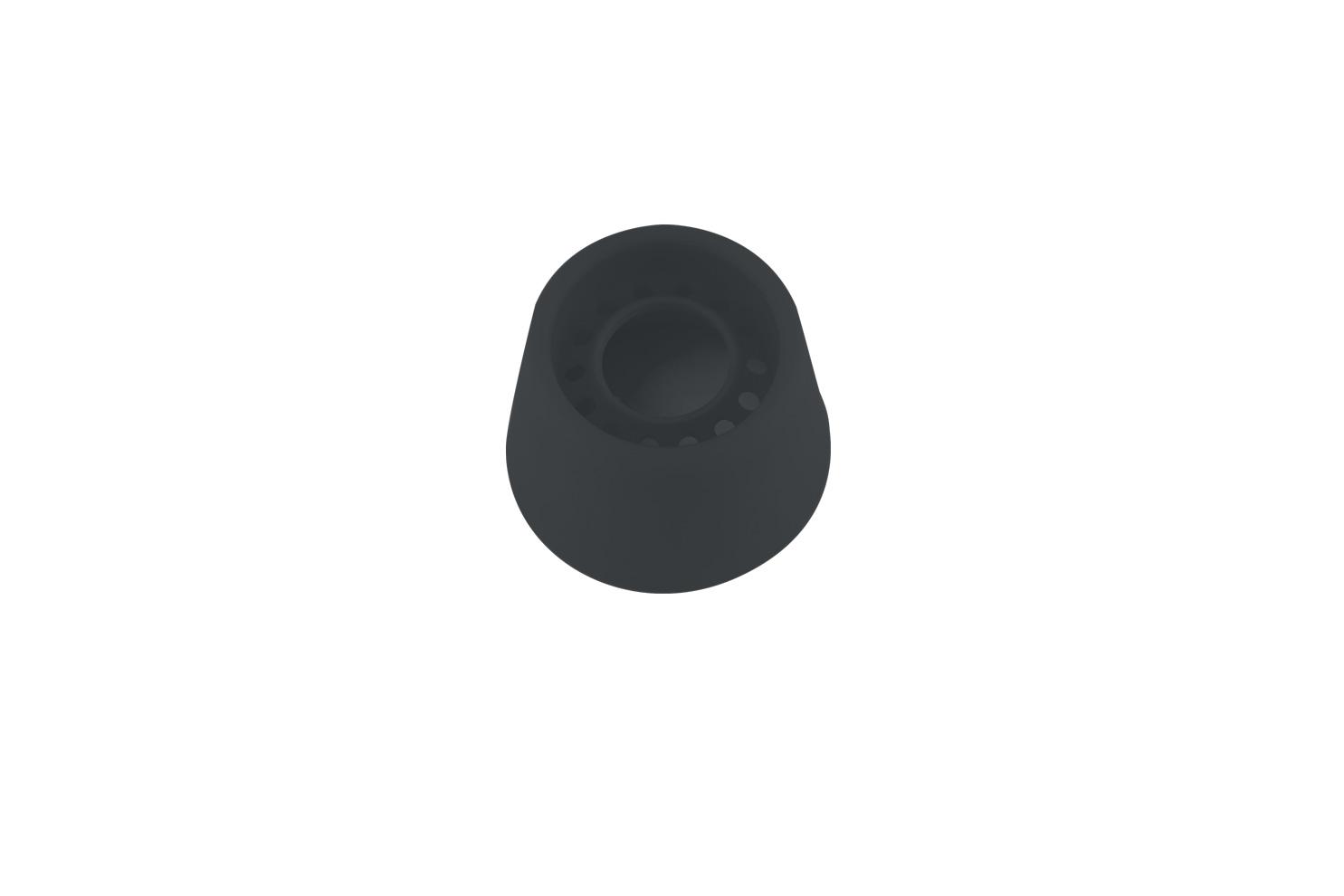 Remoska® Náhradní krytka ventilu na soft-tlakovém víku Barva: Černá