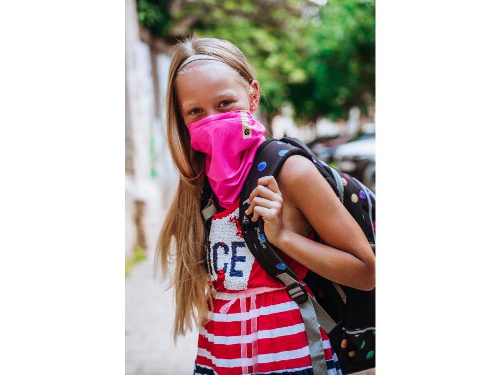 00 R shield pink summer kids