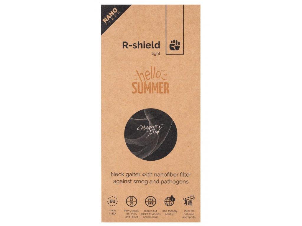 00 R shield light charity jam black