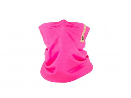 Antiviral neck gaiter R-shield Light Pink for kids | RESPILON