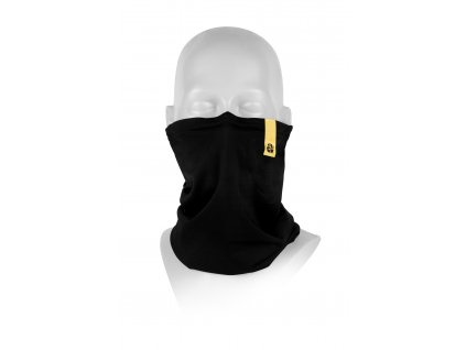 Antiviral neck gaiter R-shield Light Black | RESPILON