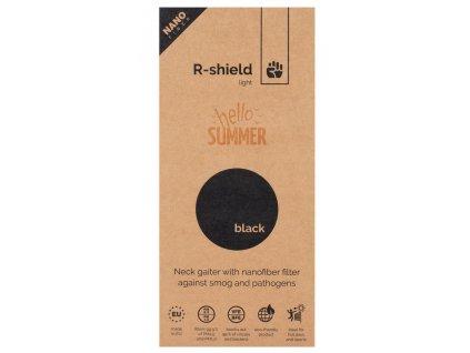 00 R shield light black