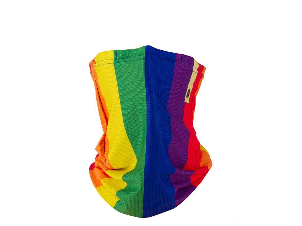 Letní šátek snano membránou R-shield Light Rainbow | RESPILON
