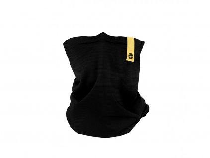Letní šátek snano membránou R-shield Light Black | RESPILON