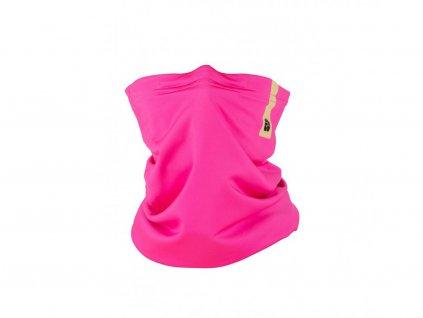 Zimní šátek snano membránou R-shield Pink | RESPILON